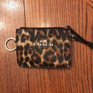 Coach Wristlet Cheetah Print